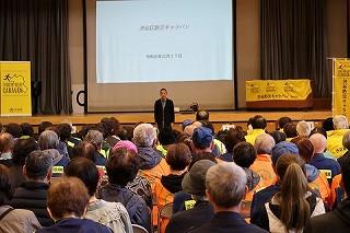 R1/11/17 氷川地区合同防災訓練に参加しました2