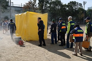 R1/11/17 氷川地区合同防災訓練に参加しました4