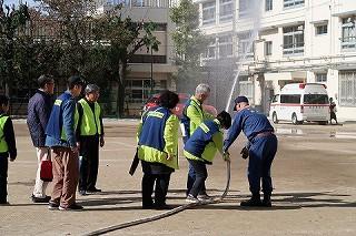R1/11/17 氷川地区合同防災訓練に参加しました6