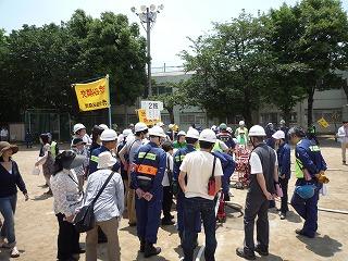 H24 5/27 氷川地区総合防災訓練