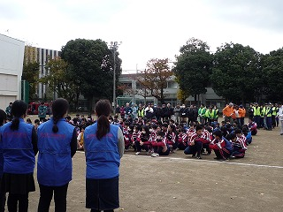 H29/11/19 渋谷氷川地区合同防災訓練に参加しました1
