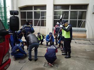 H29/11/19 渋谷氷川地区合同防災訓練に参加しました4
