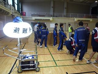 H29/11/19 渋谷氷川地区合同防災訓練に参加しました3