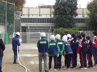 H29/11/19 渋谷氷川地区合同防災訓練に参加しました6