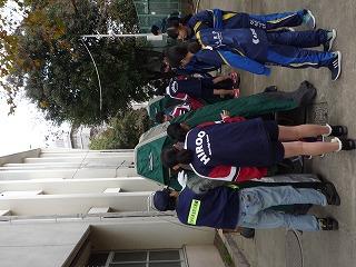 H29/11/19 渋谷氷川地区合同防災訓練に参加しました5