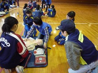 H29/11/19 渋谷氷川地区合同防災訓練に参加しました9