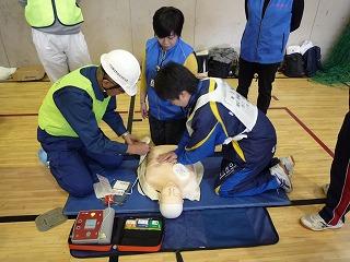 H30/11/18 氷川地区合同防災訓練に参加しました3
