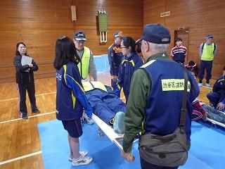 H30/11/18 氷川地区合同防災訓練に参加しました4