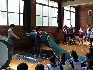 H30/11/18 氷川地区合同防災訓練に参加しました5