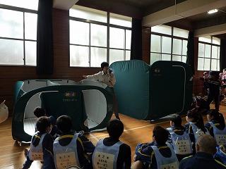 H30/11/18 氷川地区合同防災訓練に参加しました6